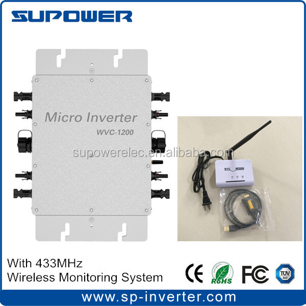 WVC Modem White Wireless 433MHz Use For Grid Tie Inverter Communication Data