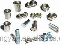 Pem Threaded Insert For Metal Sheet Or Pcb Aluminum Buy