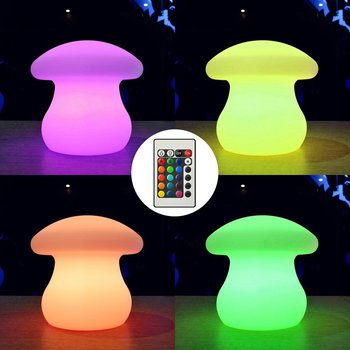 Led Mushroom Lamp Wireless Rechargeable