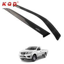 car accessories decoration sun/door visor weather guard china wholesale for 2016 Nissan Navara Np300