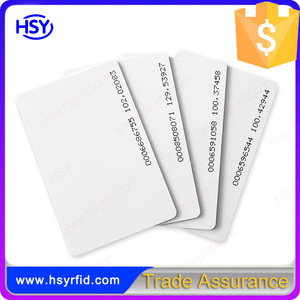 RFID Blank TK4100 Chip Access Door Card for system
