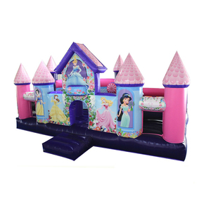 NEVERLAND TOYS Princess theme Inflatable obstacle courses,giant inflatable obstacle course kids obstacle course