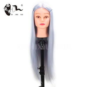 fashionable styles not 100% human hair training doll head wholesale for training school