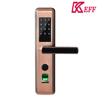 New products china best price digital fingerprint door lock with keyless entry system for wooden