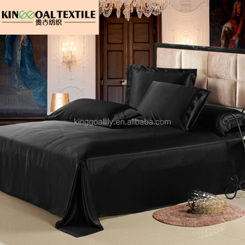 High strength factory supply 100% silk fitted bed sheet