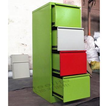 Steelite Decorative Cardboard Drawer Storage Box 4 File Cabinets Office