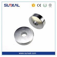Different Material uni pole radial ring magnet