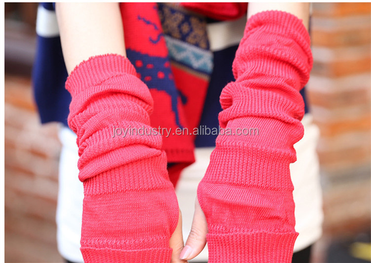 TB01,2016 New Design Useful Colorful Warm Soft Fashion Women Winter cotton gloves half fingers Half Finger Golves wholesale