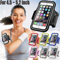 (Free Shipping) Waterproof Sports Case Armband Cover Case for iPhone 6 6S Samsung Galaxy Grand Prime S4 5 6 Edge S7 Xiaomi Mi5