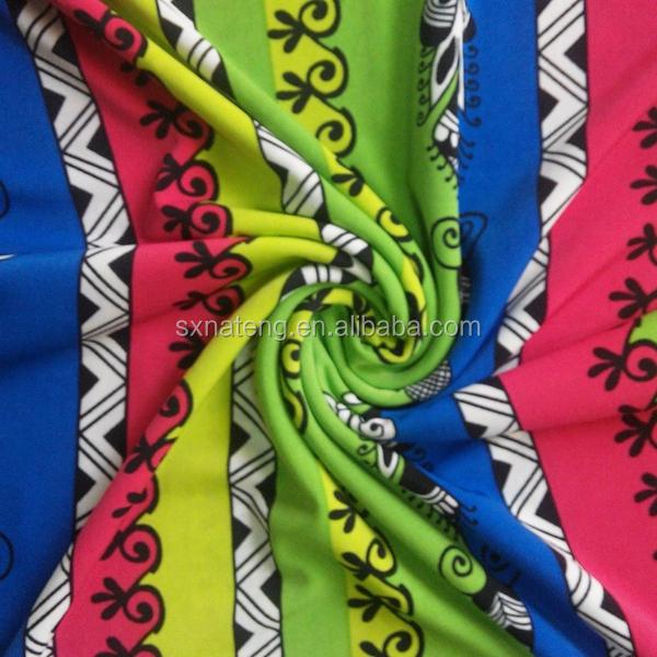 African Print Stretch Fabric, African Print Stretch Fabric ...