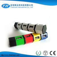 NEW 4 Port USB HUB 1.1 High Speed USB HUB Laptop PC Slim Smallest Mini