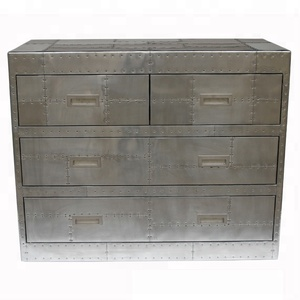 Aviation Aluminum Side Trunk Cabinet