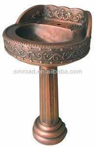 Beau Copper Pedestal Sinks, Copper Pedestal Sinks Suppliers And Manufacturers At  Alibaba.com