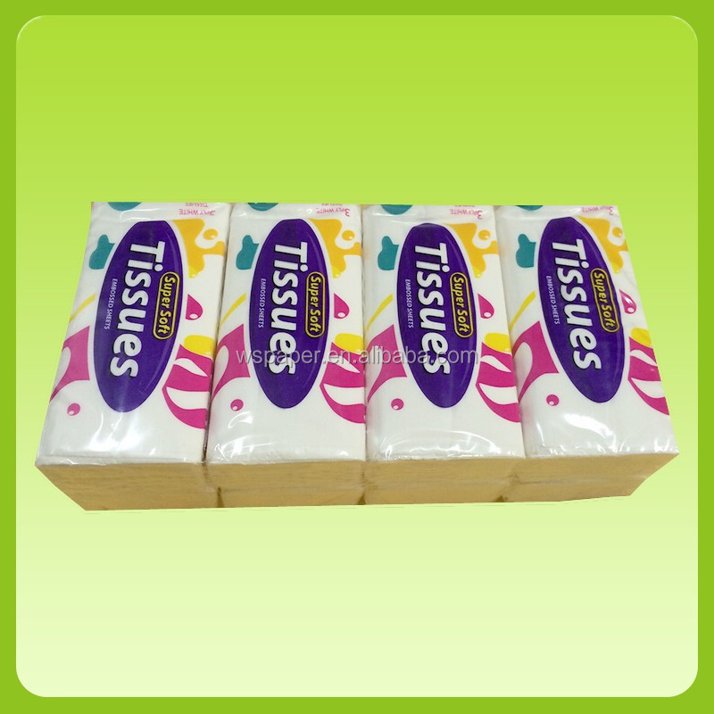 Custom 2020 new pocket tissue pack factory price