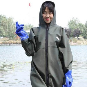 OEM Support Breathable Nylon PVC Women Fishing Wear Hunting Chest Waders