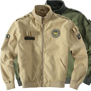 Neue Ankunft Herren Jacken Air Force Bomber Männer Jacke Mantel Männlich Größe Soldat Militärische Ausrüstung Jacke Buy Armee Luft Jacke,Soild Farbe