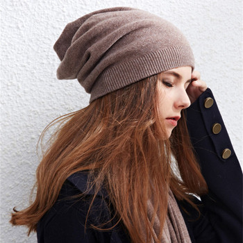 022e20e0dc0 custom women cashmere beanie cashmere knitted slouch beanie hat ...