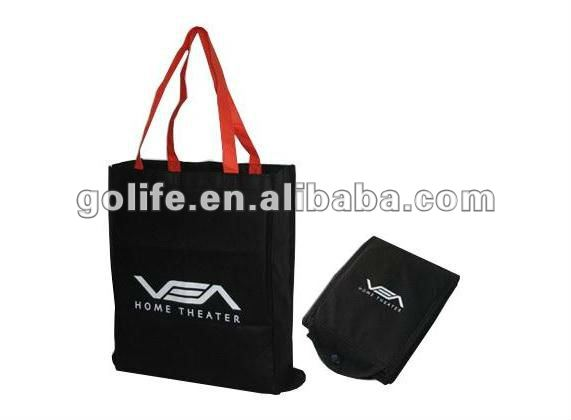 2012 High quality eco-friendly PP non-woven foldable shopping bags