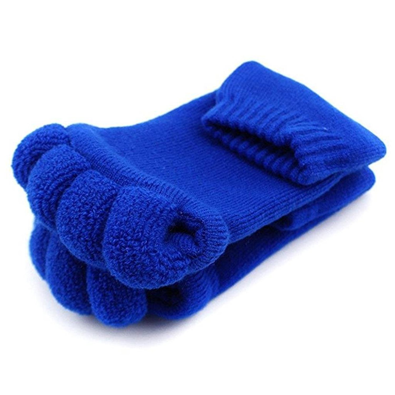 a1db1ab67d4 JASSINS One Pair of Massage Toeless Toe Separator Open Toe Socks Thicken Foot  Alignment Socks