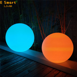 16 Color Light 20cm Garden and Home Waterproof IP65/ IP68 Solar Color Changing Led Ball Light