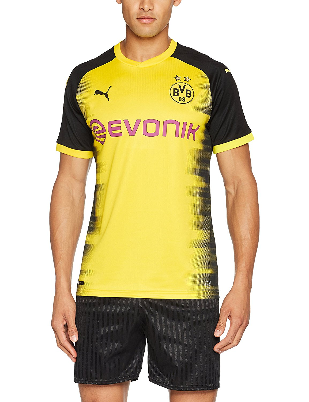 f5df07fe48c6 Get Quotations · Borussia Dortmund Champions League Jersey 2017   2018