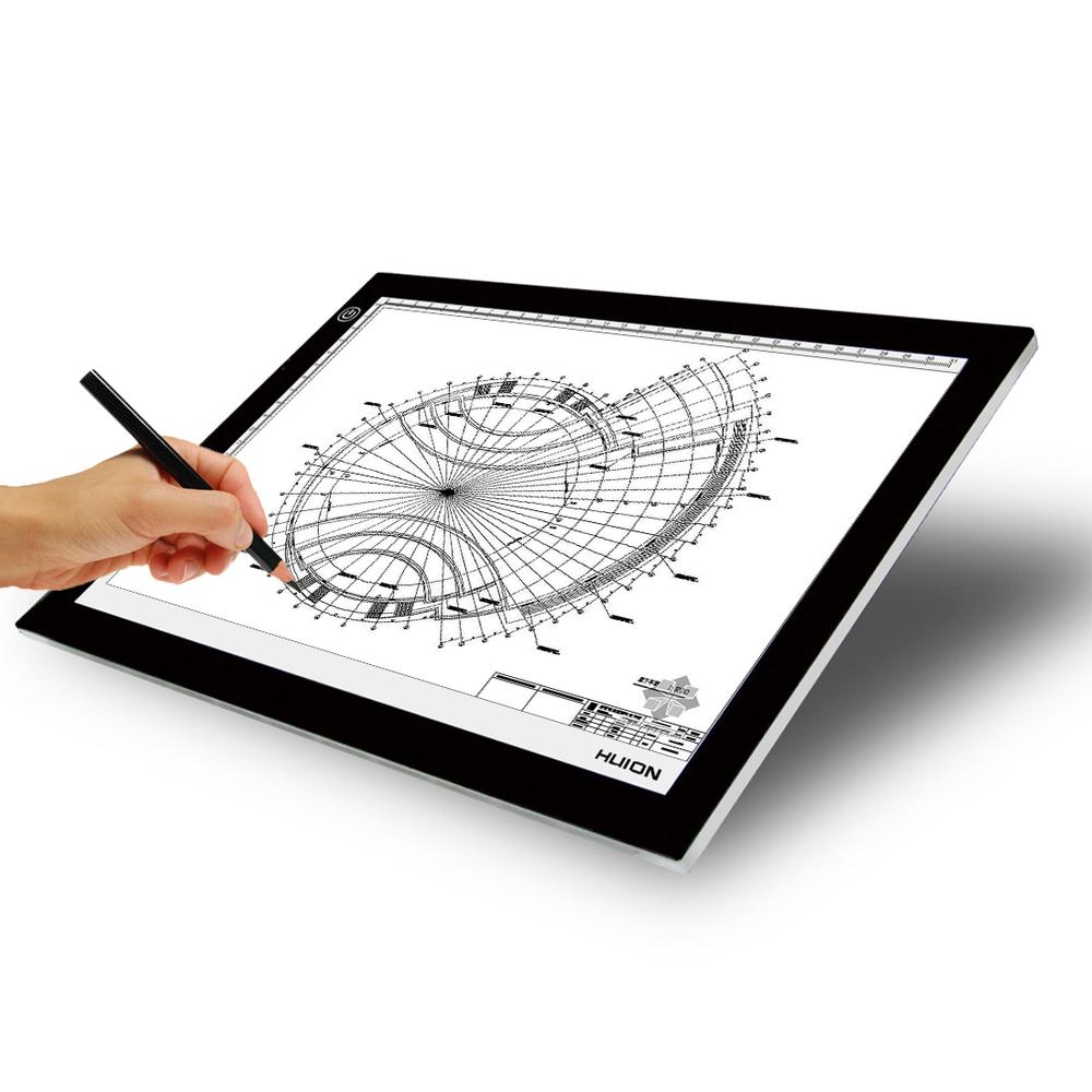 A2 Dc12v Acrylic Panel Led Light Up Drawing Board Led Tattoo