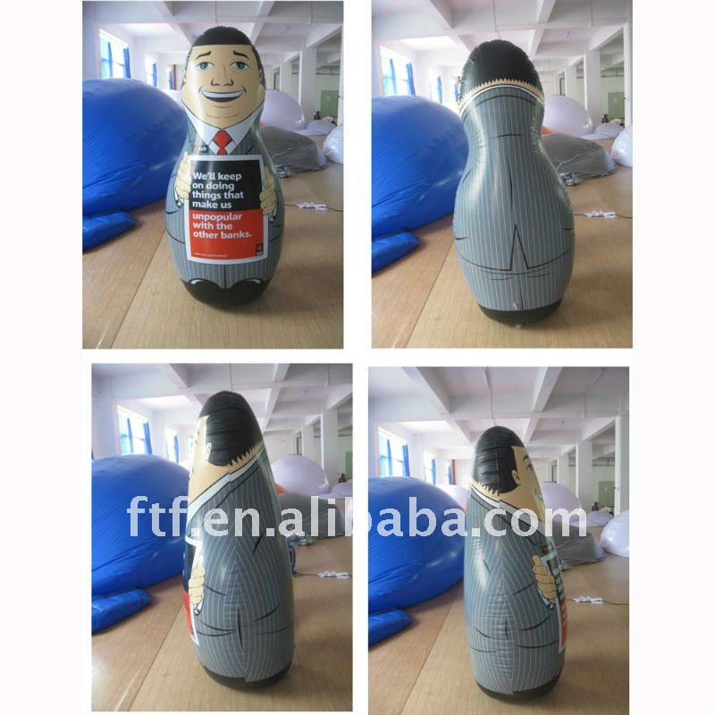 2013 Popular PVC inflatable punching bags