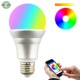 Bluetooth music WiFi decorative lights 10WRGB 2.4G white warm white CCT light bulb with memory infrared remote control