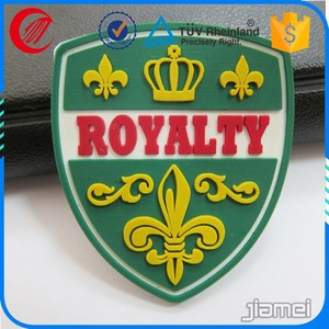 Factory custom Army military rubber pvc badge