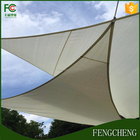 high quality HDPE material shade sails rectangle /trangle shade sail cover for car parking