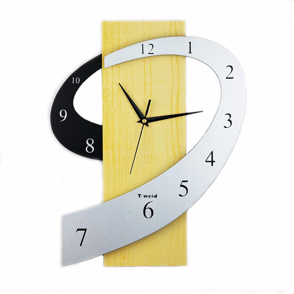 acheter 3d horloge murale murale cr ative montre design moderne accrocher. Black Bedroom Furniture Sets. Home Design Ideas