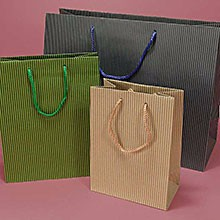 China factory hot sale shopping white/brown kraft paper bags in Shanghai personalized paper bags