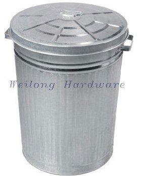 75l Metal Garbage Can Large