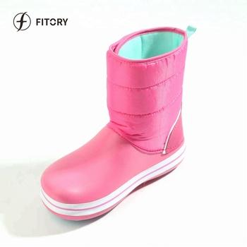 fa60ca53b965 Fitory Upper Faux Waterproof Kid s Rain Boot Shoes - Buy Eva Flat ...