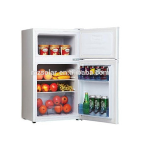 Bottom freezer commercial solar power freezer refrigerator fridge
