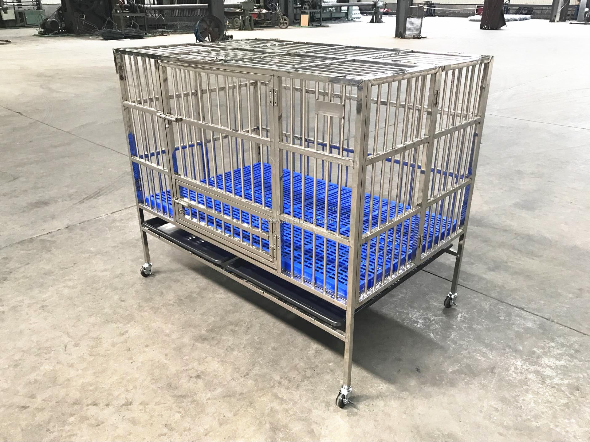 BAIYI ब्रांड बिक्री के लिए पालतू जानवरों के लिए एल्यूमीनियम कुत्ते पिंजरों