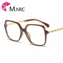 MARC 2020 прозрачный объектив модные женские туфли Классическая оправа для очков очки квадратной формы Обёрточная бумага однотонные зеленые Л...(Китай)
