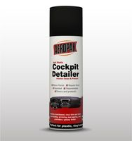 AEROPAK with MSDS certificate Anti Static Cockpit Detailer 500ml for most auto interiors