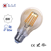High CRI >90 360 degree LED Filament Bulb Lamp, dimmable filament bulb led