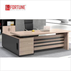 MFC melamine office furniture wooden office table computer desk computer table for work