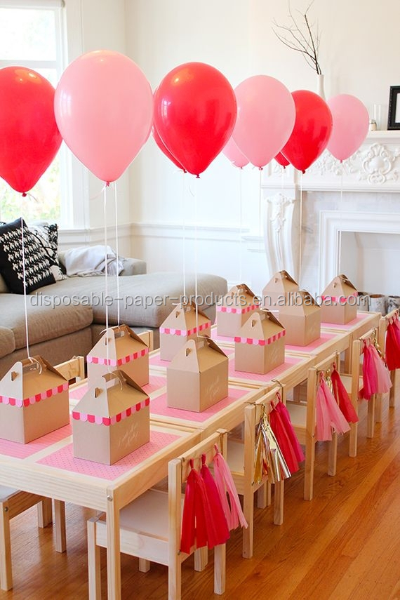 New Paper Party Decoration Ideas Pink Tassel Garland Kit Tassel Backdrop Event Decor Baby Shower