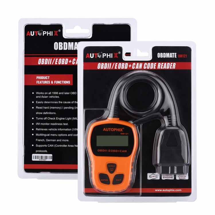High Quality Autophix Om121 Universal Obd2 Scanner Auto