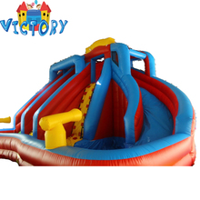 kids air bouncer inflatable floating water bungee trampoline from china for sale