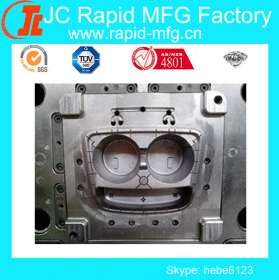 Plastic ATM Parts Injection Mould , ABS PVC PP Custom Injection Mold