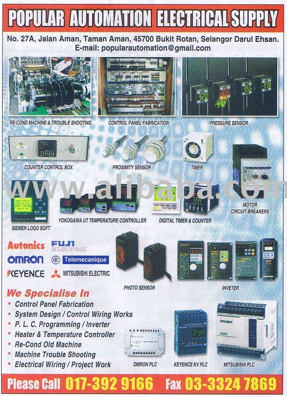 Control Temperature Controller,Inveter,Counter,Plc & Other System ...