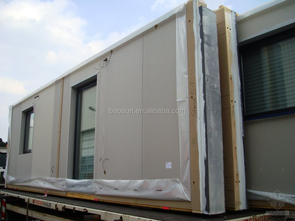 Baosun Demark Pre Manufactured Shipping Container Home For