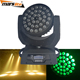 Promotional 36x10w rgbw quad color 4in1 led zoom moving head wash stage light