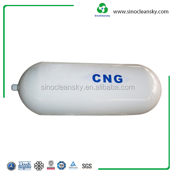 Best Selling 20MPa 40L Type 1 2 3 CNG Tank