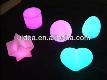 Led Mood Lights Colour Changing Night Light In Diffe Shapes
