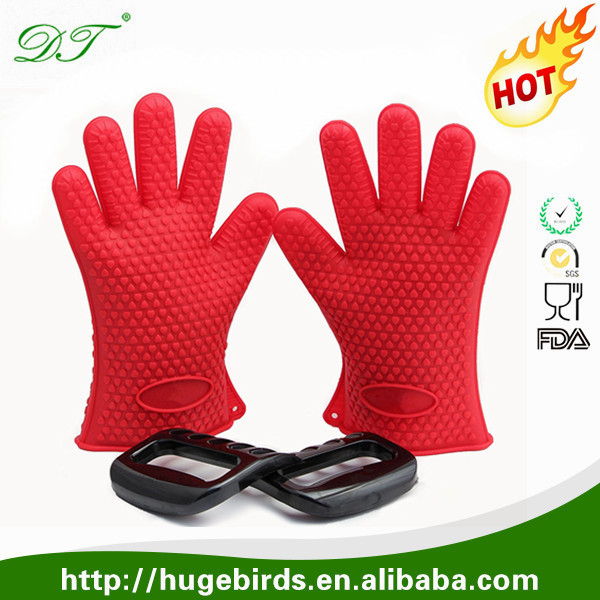 Heat Resistant BBQ Gloves with Shredder Bear Paw Claws BBQ Meat Claws
